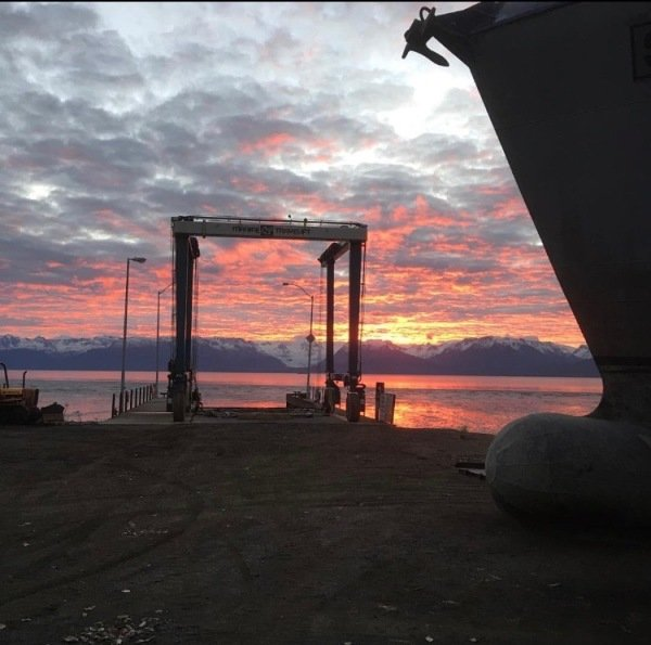 Kachemak Bay Sunrise